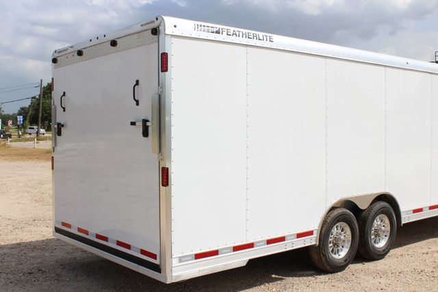 2020 Featherlite 4926 24' BUMPER PULL ENCLOSED CAR HAULER CONROE, TX 21