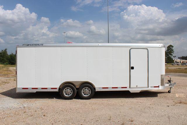 2020 Featherlite 4926 24' BUMPER PULL ENCLOSED CAR HAULER CONROE, TX 26