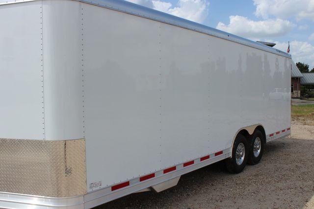 2020 Featherlite 4926 24' BUMPER PULL ENCLOSED CAR HAULER CONROE, TX 6
