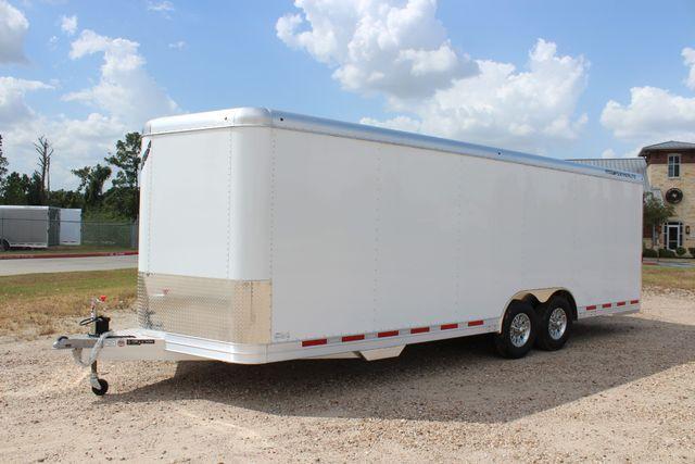 2020 Featherlite 4926 24' BUMPER PULL ENCLOSED CAR HAULER CONROE, TX 7