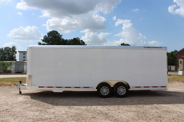 2020 Featherlite 4926 24' BUMPER PULL ENCLOSED CAR HAULER CONROE, TX 8