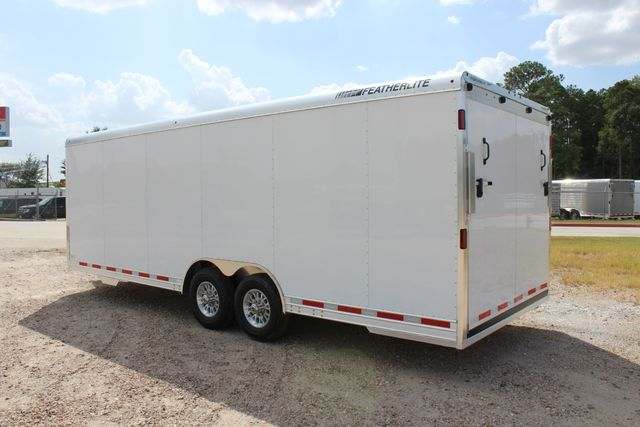2020 Featherlite 4926 24' BUMPER PULL ENCLOSED CAR HAULER CONROE, TX 9