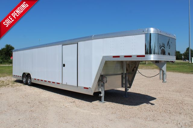 2020 Featherlite 4941 - 32 32' ENCLOSED GOOSE NECK CAR HAULER CONROE, TX 0