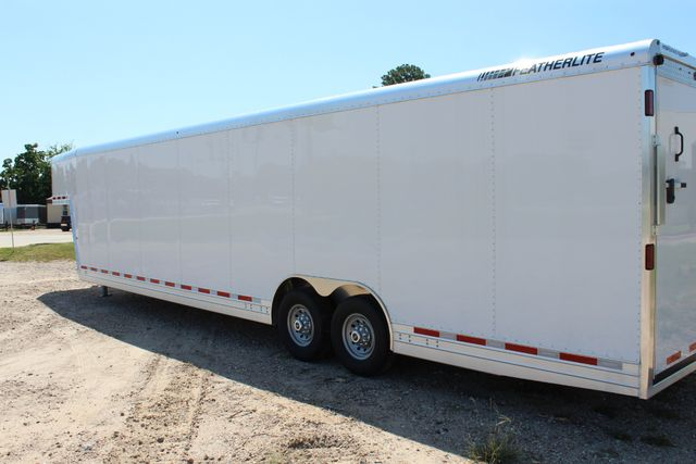 2020 Featherlite 4941 - 32 32' ENCLOSED GOOSE NECK CAR HAULER CONROE, TX 11