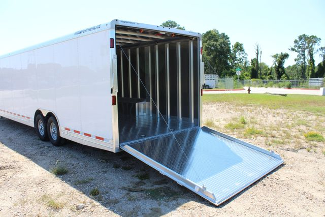 2020 Featherlite 4941 - 32 32' ENCLOSED GOOSE NECK CAR HAULER CONROE, TX 13