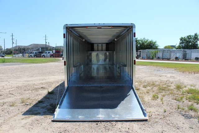 2020 Featherlite 4941 - 32 32' ENCLOSED GOOSE NECK CAR HAULER CONROE, TX 15