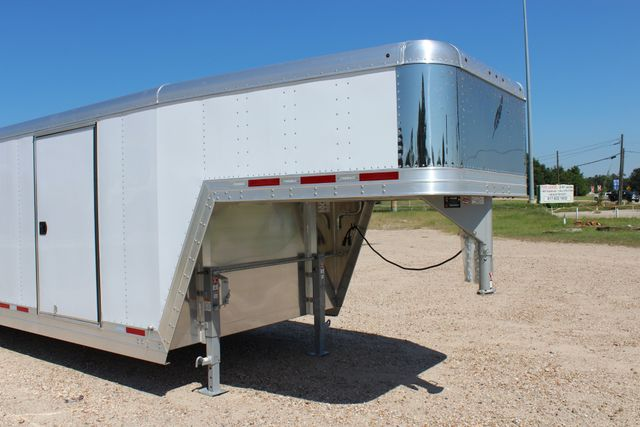 2020 Featherlite 4941 - 32 32' ENCLOSED GOOSE NECK CAR HAULER CONROE, TX 2