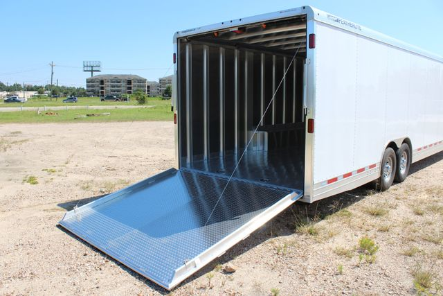 2020 Featherlite 4941 - 32 32' ENCLOSED GOOSE NECK CAR HAULER CONROE, TX 23
