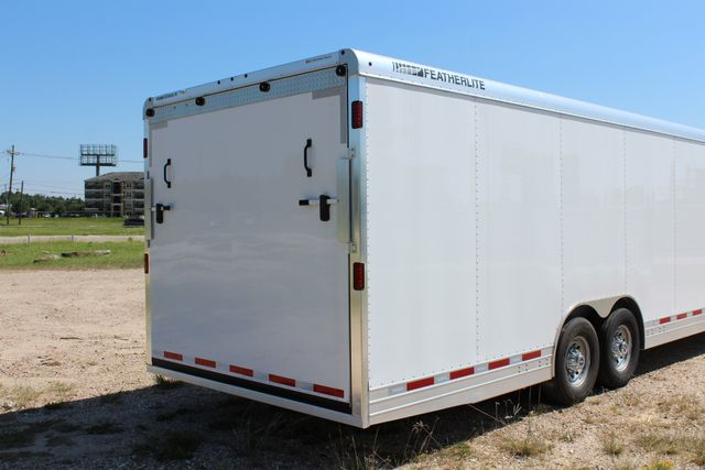 2020 Featherlite 4941 - 32 32' ENCLOSED GOOSE NECK CAR HAULER CONROE, TX 25
