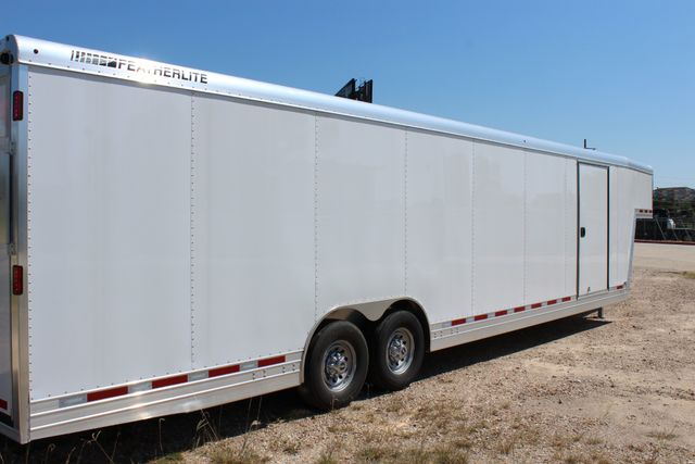 2020 Featherlite 4941 - 32 32' ENCLOSED GOOSE NECK CAR HAULER CONROE, TX 26
