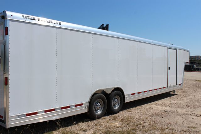 2020 Featherlite 4941 - 32 32' ENCLOSED GOOSE NECK CAR HAULER CONROE, TX 27