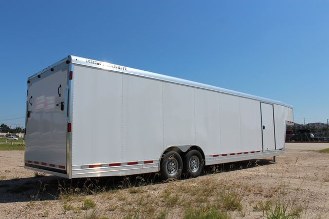 2020 Featherlite 4941 - 32 32' ENCLOSED GOOSE NECK CAR HAULER CONROE, TX 28