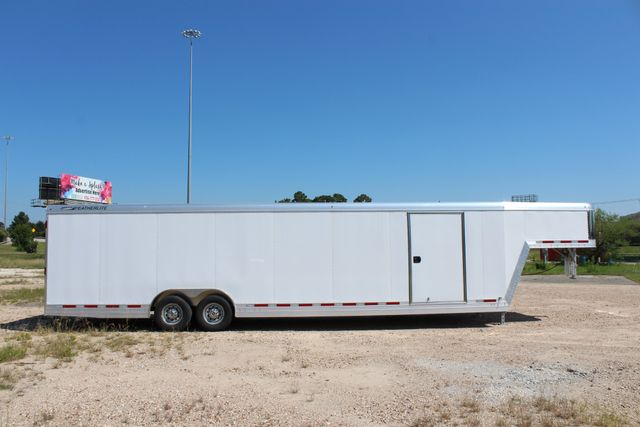 2020 Featherlite 4941 - 32 32' ENCLOSED GOOSE NECK CAR HAULER CONROE, TX 29