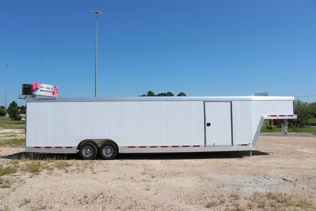 2020 Featherlite 4941 - 32 32' ENCLOSED GOOSE NECK CAR HAULER CONROE, TX 32