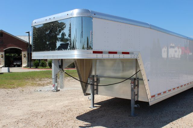 2020 Featherlite 4941 - 32 32' ENCLOSED GOOSE NECK CAR HAULER CONROE, TX 6
