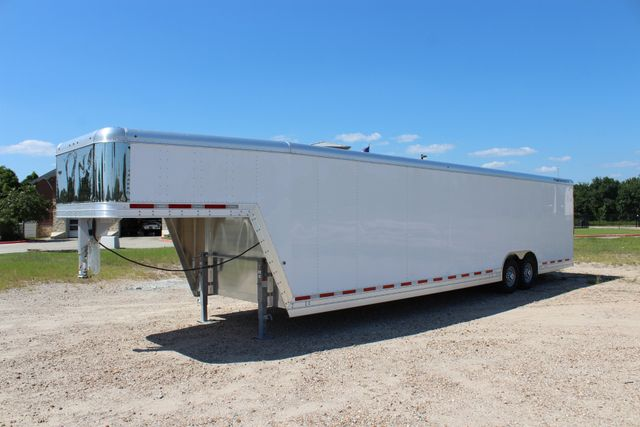 2020 Featherlite 4941 - 32 32' ENCLOSED GOOSE NECK CAR HAULER CONROE, TX 8