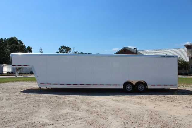 2020 Featherlite 4941 - 32 32' ENCLOSED GOOSE NECK CAR HAULER CONROE, TX 9