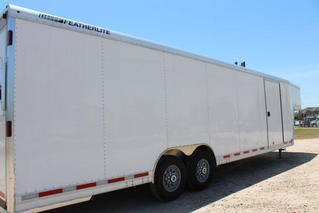 2020 Featherlite 4941 28' ENCLOSED CAR HAULER GOOSE NECK PKG 7' TALL CONROE, TX 24