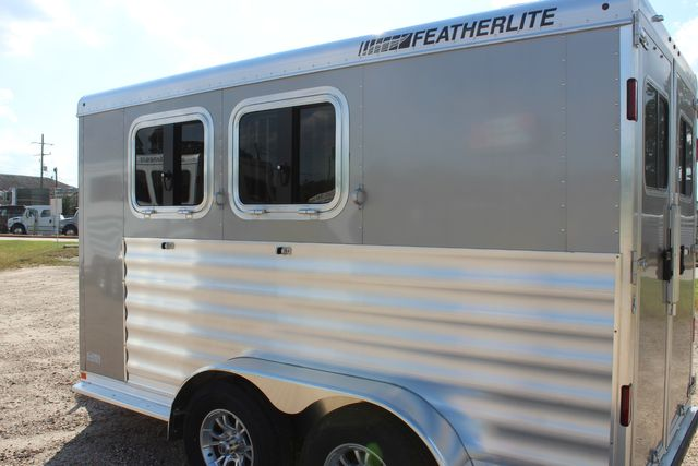"2020 Featherlite 7441 - 2 HORSE TWO HORSE - BUMPER PULL - 24"" DRESSING ROOM - 7' W CONROE, TX 10"