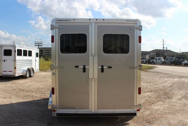 "2020 Featherlite 7441 - 2 HORSE TWO HORSE - BUMPER PULL - 24"" DRESSING ROOM - 7' W CONROE, TX 12"