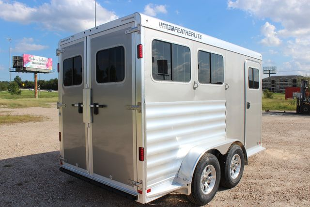 "2020 Featherlite 7441 - 2 HORSE TWO HORSE - BUMPER PULL - 24"" DRESSING ROOM - 7' W CONROE, TX 13"