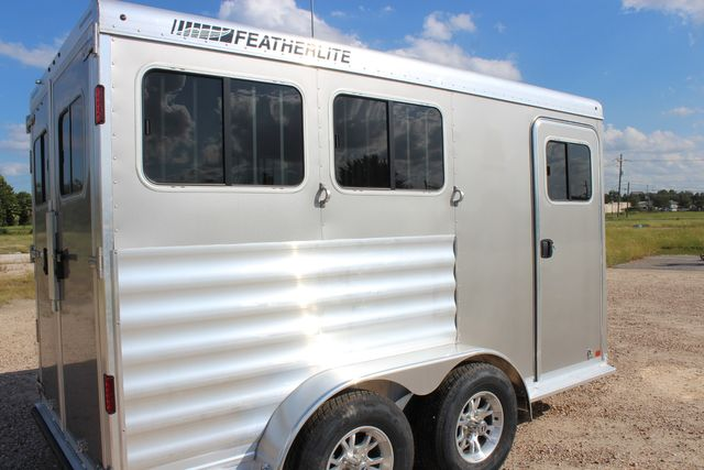 "2020 Featherlite 7441 - 2 HORSE TWO HORSE - BUMPER PULL - 24"" DRESSING ROOM - 7' W CONROE, TX 16"