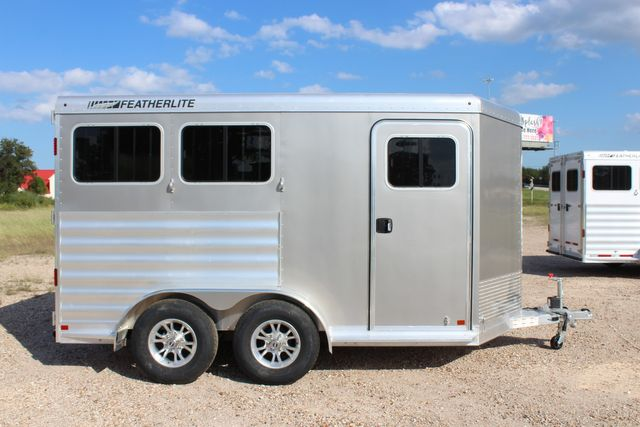"2020 Featherlite 7441 - 2 HORSE TWO HORSE - BUMPER PULL - 24"" DRESSING ROOM - 7' W CONROE, TX 18"