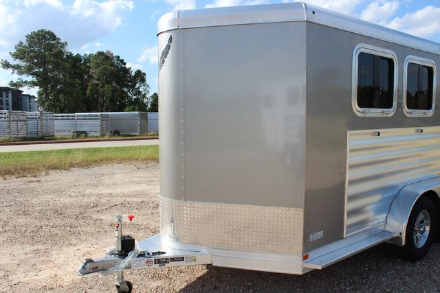 "2020 Featherlite 7441 - 2 HORSE TWO HORSE - BUMPER PULL - 24"" DRESSING ROOM - 7' W CONROE, TX 5"