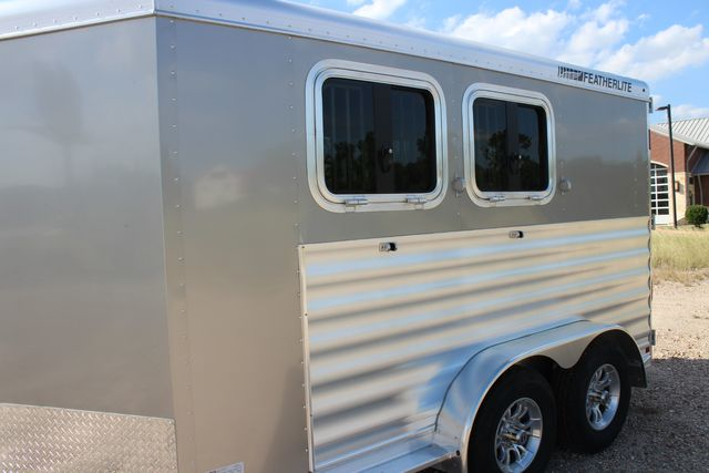 "2020 Featherlite 7441 - 2 HORSE TWO HORSE - BUMPER PULL - 24"" DRESSING ROOM - 7' W CONROE, TX 6"