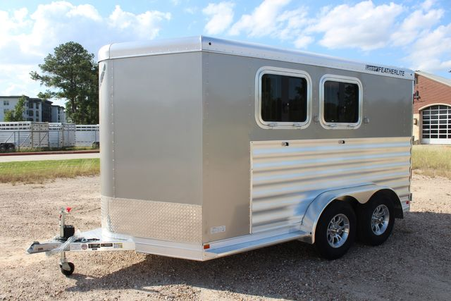 "2020 Featherlite 7441 - 2 HORSE TWO HORSE - BUMPER PULL - 24"" DRESSING ROOM - 7' W CONROE, TX 7"