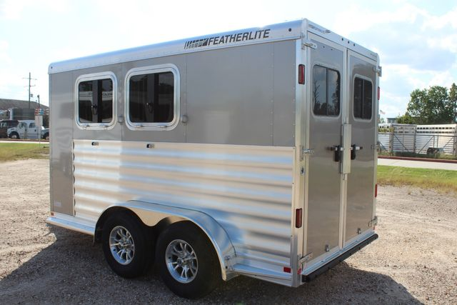 "2020 Featherlite 7441 - 2 HORSE TWO HORSE - BUMPER PULL - 24"" DRESSING ROOM - 7' W CONROE, TX 9"