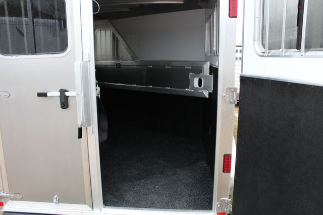 "2020 Featherlite 7441 - 2 HORSE TWO HORSE - BUMPER PULL - 24"" DRESSING ROOM - 7' W CONROE, TX 15"