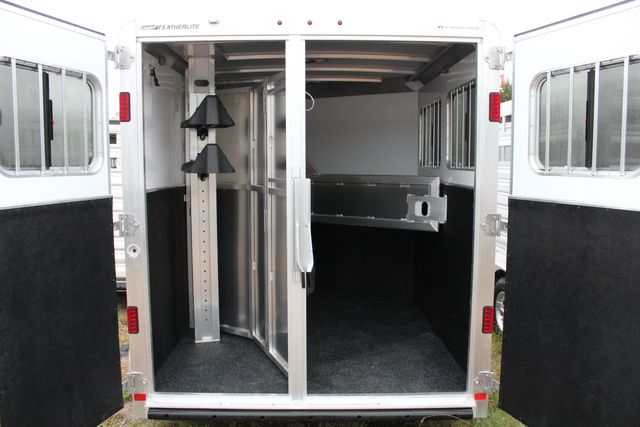 "2020 Featherlite 7441 - 2 HORSE TWO HORSE - BUMPER PULL - 24"" DRESSING ROOM - 7' W CONROE, TX 14"