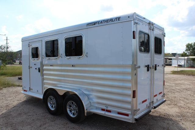 "2020 Featherlite 7441 - 3 HORSE 3H - BP  7' W x 7' T - 24"" DRESSING ROOM - CONROE, TX 12"