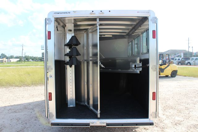 "2020 Featherlite 7441 - 3 HORSE 3H - BP  7' W x 7' T - 24"" DRESSING ROOM - CONROE, TX 16"