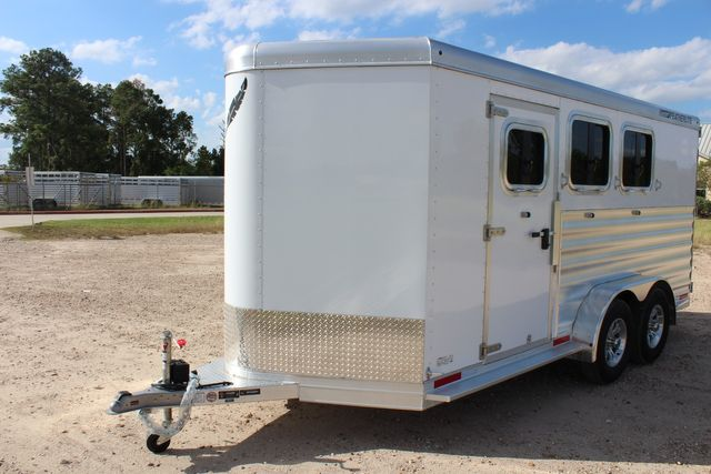 "2020 Featherlite 7441 - 3 HORSE 3H - BP  7' W x 7' T - 24"" DRESSING ROOM - CONROE, TX 4"