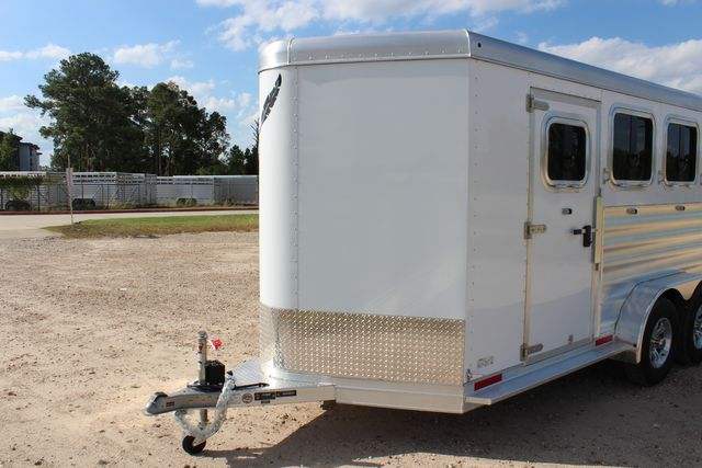 "2020 Featherlite 7441 - 3 HORSE 3H - BP  7' W x 7' T - 24"" DRESSING ROOM - CONROE, TX 6"