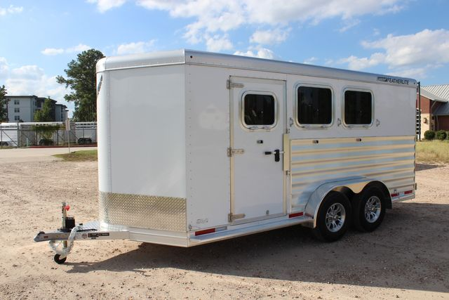 "2020 Featherlite 7441 - 3 HORSE 3H - BP  7' W x 7' T - 24"" DRESSING ROOM - CONROE, TX 9"
