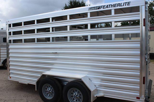 2020 Featherlite 8107 16' BUMPER PULL LIVESTOCK TRAILER CONROE, TX 11