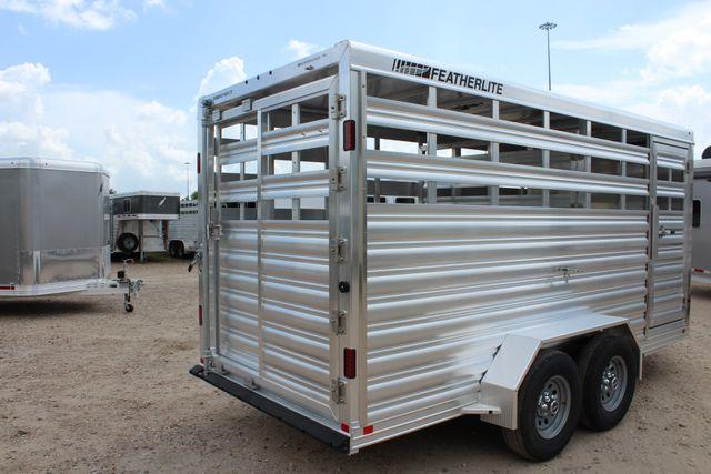 2020 Featherlite 8107 16' BUMPER PULL LIVESTOCK TRAILER CONROE, TX 20