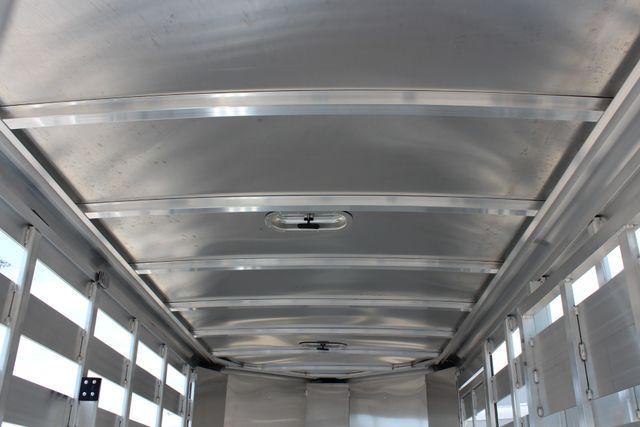 2020 Featherlite 8107 16' BUMPER PULL LIVESTOCK TRAILER CONROE, TX 18