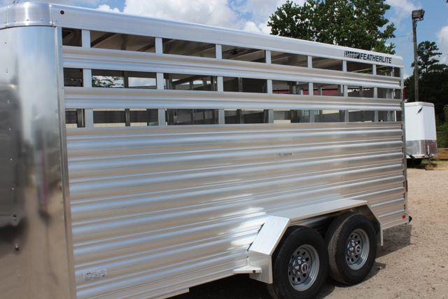 2020 Featherlite 8107 16' BUMPER PULL LIVESTOCK TRAILER CONROE, TX 6