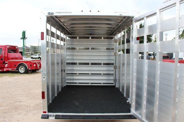 2020 Featherlite 8107 16' BUMPER PULL LIVESTOCK TRAILER CONROE, TX 15