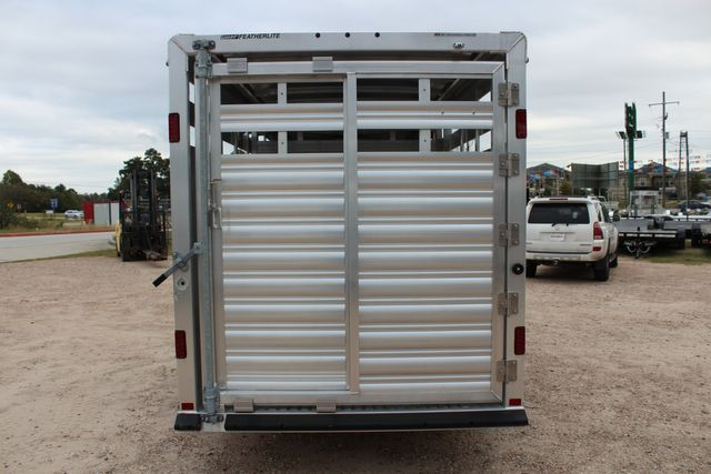 2020 Featherlite 8107 16' - LIVESTOCK - CATTLE TRAILER - ALUMINUM FLOOR CONROE, TX 12