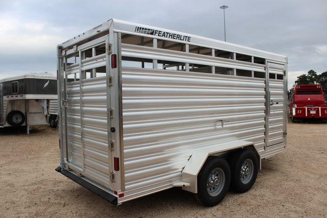 2020 Featherlite 8107 16' - LIVESTOCK - CATTLE TRAILER - ALUMINUM FLOOR CONROE, TX 19