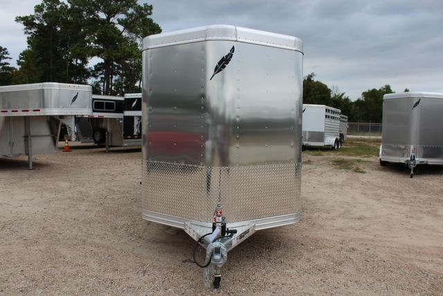 2020 Featherlite 8107 16' - LIVESTOCK - CATTLE TRAILER - ALUMINUM FLOOR CONROE, TX 3