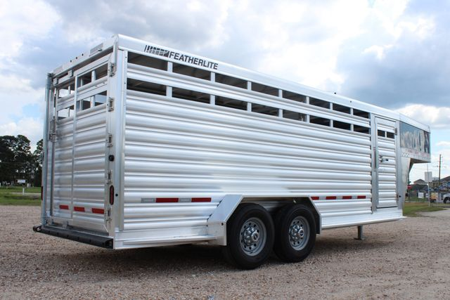 2020 Featherlite 8117 - 20 STOCK 20' GN LIVESTOCK & CATTLE CONROE, TX 19