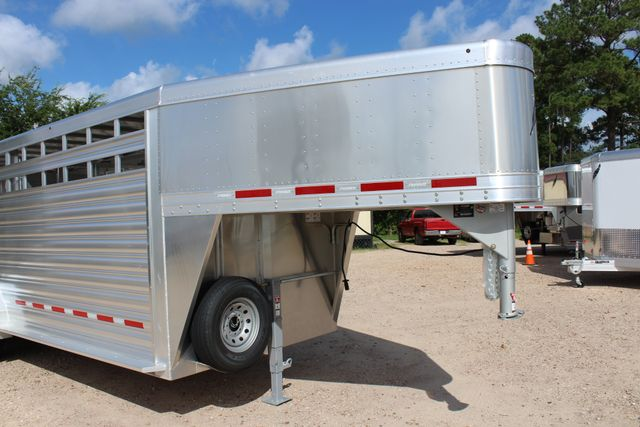 2020 Featherlite 8127 - 20 20' V-NOSE LIVESTOCK TRAILER 7' TALL & 7'WIDE CONROE, TX 2