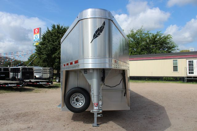 2020 Featherlite 8127 - 20 20' V-NOSE LIVESTOCK TRAILER 7' TALL & 7'WIDE CONROE, TX 4