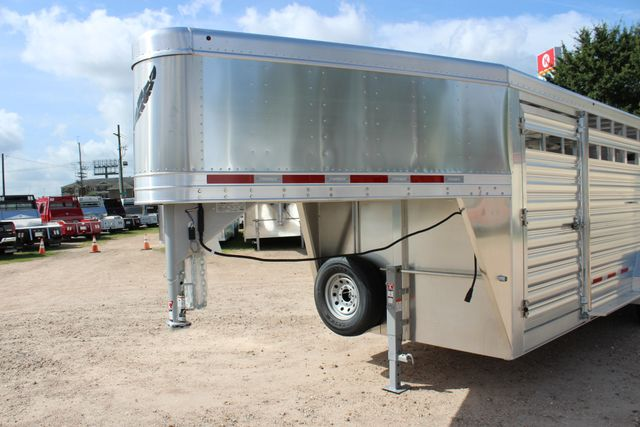 2020 Featherlite 8127 - 20 20' V-NOSE LIVESTOCK TRAILER 7' TALL & 7'WIDE CONROE, TX 5